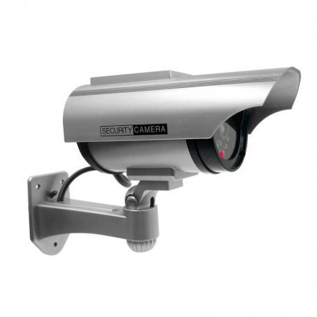 Orno Atrapa kamery monitorującej CCTV z panelem solarnym