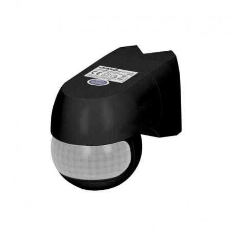Orno Czujnik ruchu 220st. 1200W, IP44, 3 rodzaje montażu, czarny