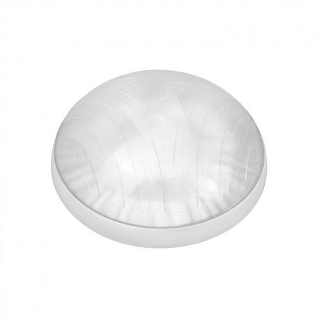 Orno ROVI, plafon oświetleniowy, 75W, E27, IP44, IK10, klosz poliwęglan przeźroczysty