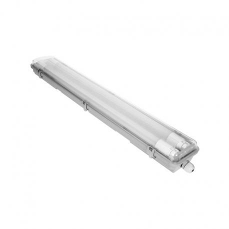 Orno HERM T8 LED 2*9W oprawa hermetyczna pod T8 LED, 1800lm, IP65, 4000K, oprawa zawiera świetlówki T8 LED