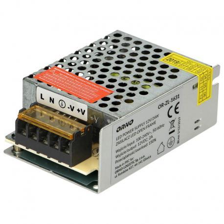 Orno Zasilacz open frame 12VDC 25W, IP20