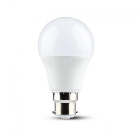 Żarówka LED V-TAC VT-229 Samsung Chip 9W B22 A58 3000K 806lm A+ 200°