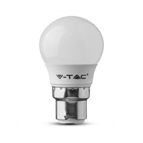 Żarówka LED V-TAC VT-221 Samsung Chip 5,5W B22 G45 3000K 470lm A+ 180°