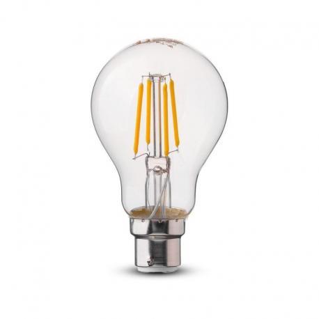 Żarówka LED V-TAC VT-208 Samsung Chip 4W B22 A60 3000K 400lm A++ 300°
