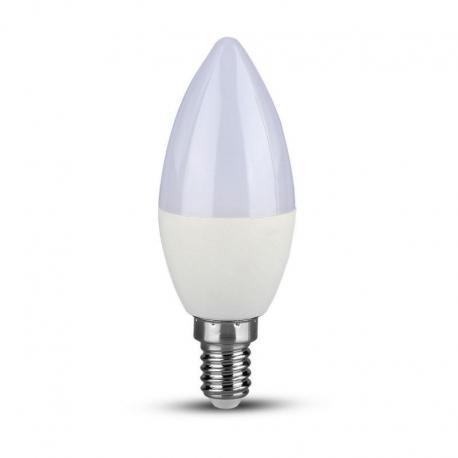 Żarówka LED V-TAC VT-268 Samsung Chip 7W E14 Świeca 3000K 600lm A+ 200°