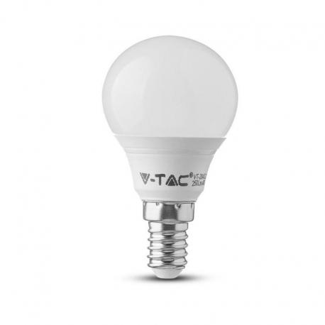 Żarówka LED V-TAC VT-1880 5,5W E14 P45 6400K 470lm A+ 180°