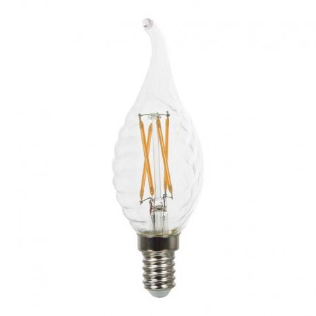 Żarówka LED V-TAC VT-1995 4W E14 Twist Candle Flame 2700K 350lm A+ 300°
