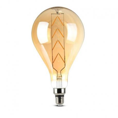 Żarówka dekoracyjna LED V-TAC VT-2159 8W E27 G165 2200K 620lm A+ 300°