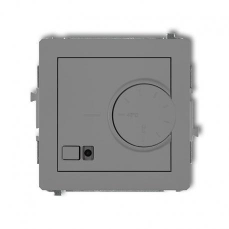 Karlik DECO Mechanizm elektronicznego regulatora temperatury z czujnikiem podpodłogowym szary mat 27DRT-1