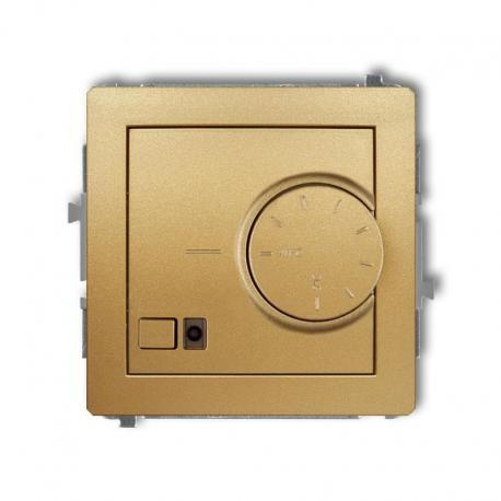 Karlik DECO Mechanizm elektronicznego regulatora temperatury z czujnikiem podpodłogowym złoty 29DRT-1