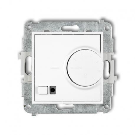 Karlik MINI Mechanizm elektronicznego regulatora temperatury z czujnikiem podpodłogowym biały MRT-1