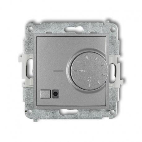 Karlik MINI Mechanizm elektronicznego regulatora temperatury z czujnikiem podpodłogowym srebrny metalik 7MRT-1
