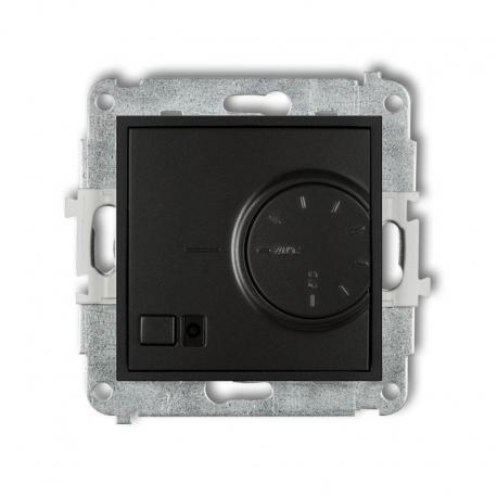 Karlik MINI Mechanizm elektronicznego regulatora temperatury z czujnikiem powietrznym czarny mat 12MRT-2