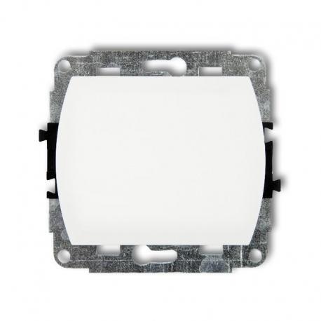Karlik TREND Mechanizm łącznika jednobiegunowego biały WP-1