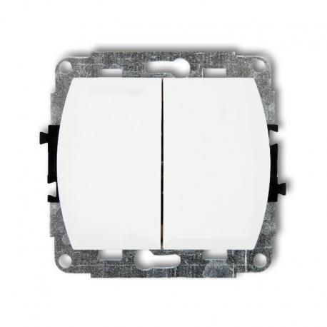 Karlik TREND Mechanizm łącznika świecznikowego biały WP-2
