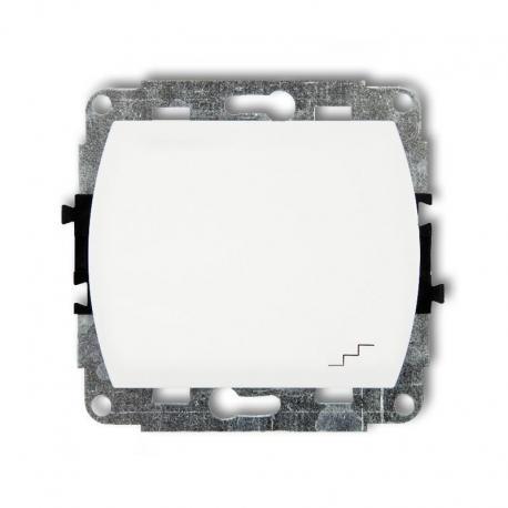 Karlik TREND Mechanizm łącznika schodowego biały WP-3