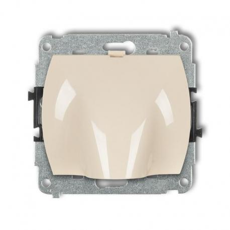Karlik TREND Mechanizm wypustu kablowego beżowy 1WPK