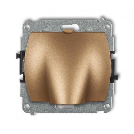 Karlik TREND Mechanizm wypustu kablowego złoty metalik 8WPK