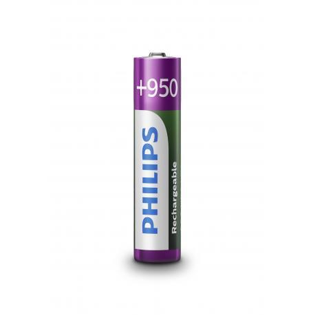 Akumulator Philips R03 Ni-Mh 950mAh B4