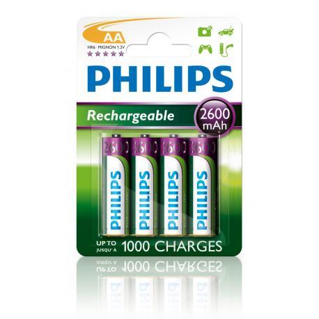 Akumulator Philips R6 Ni-Mh 2600mAh B4