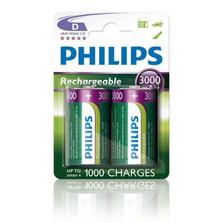 Akumulator Philips R20 Ni-Mh 3000 mAh B2