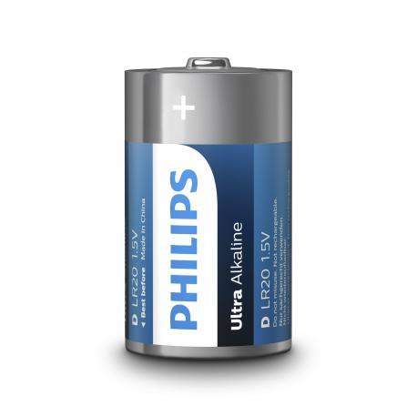 Bateria Philips LR20 Ultra Alkaline B2
