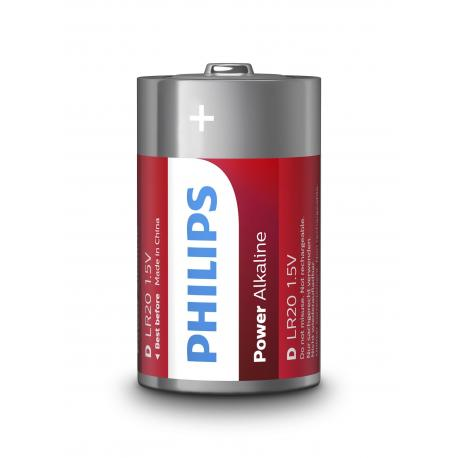 Bateria Philips LR20 Power Alkaline B2