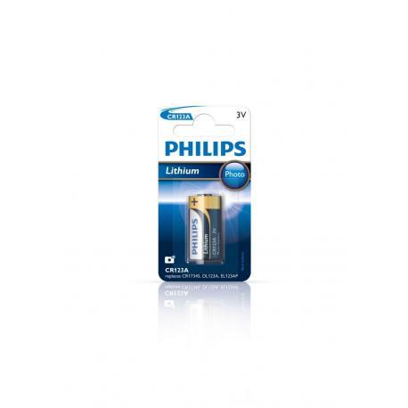 Bateria Philips CR123A Photo 3V