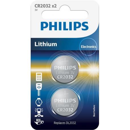 Bateria Philips CR2032P2/01B 2-pack