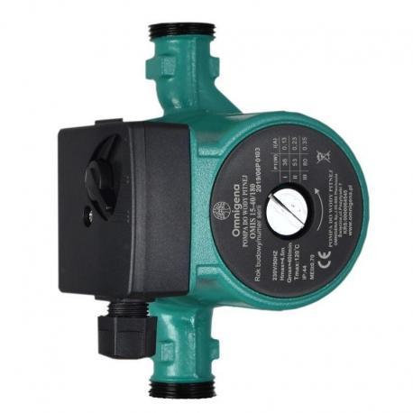 Omnigena Pompa do wody OMIS 15-40/180 ze śrubunkami