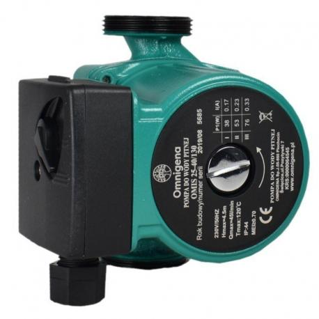 Omnigena Pompa do wody OMIS 25-40/130 bez śrubunków