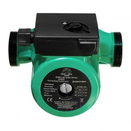 Omnigena Pompa do wody OMIS 32-60/180 ze śrubunkiami