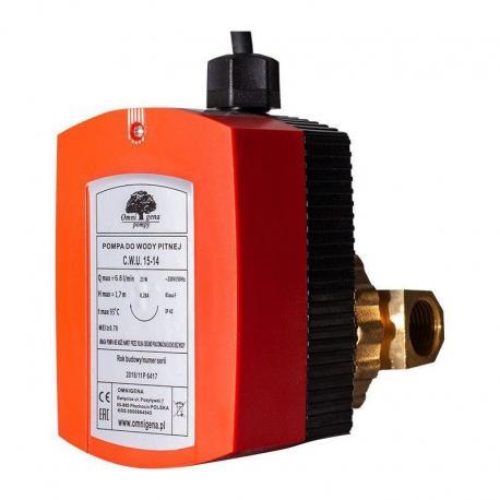 Omnigena Pompa do ciepłej wody CWU 15-14 pompa obiegowa