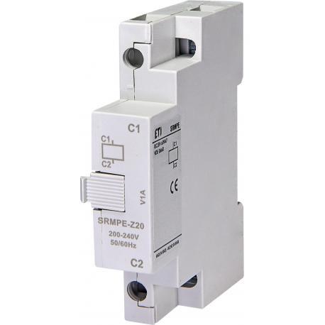 Eti Polam Wyzwalacz napięciowy (wzrostowy) 200 - 240V 50/60Hz SRMPE-Z20 004648030