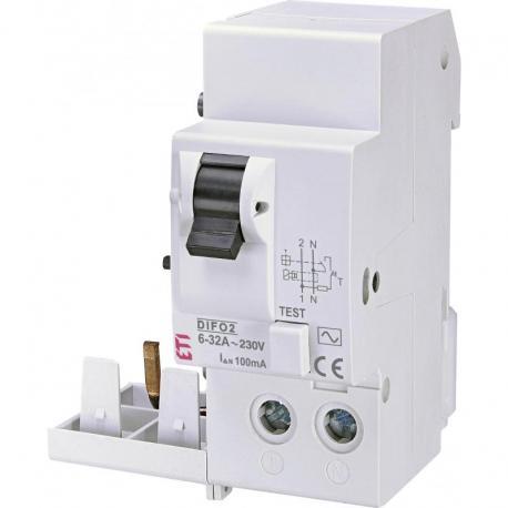 Eti Polam Moduł różnicowoprądowy DIFO-2 AC 6-32/0.1 002058007
