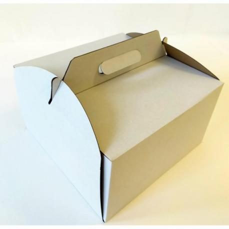 Krak-Old Pudełko na tort 265x265x150 5szt.