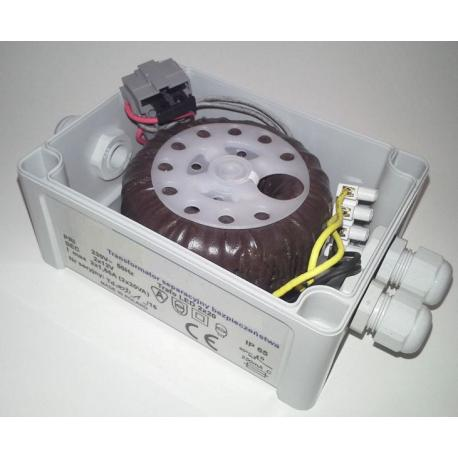 Telpod Transformafor separacyjny bezpieczeństwa LED Trafo LED 122080/TEL