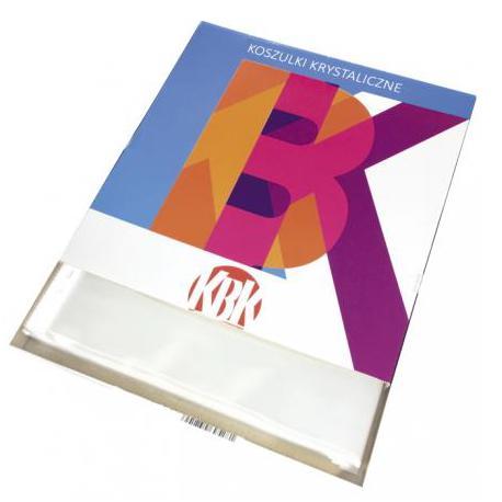 Koszulka Krystaliczna A4 KBK/Office Products A4/100 55mic. 200-0137-KBK