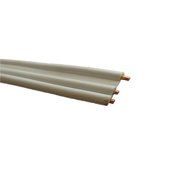 Przewód YDYt 2 x 1,5 mm2 450/750 V biały płaski 1 m